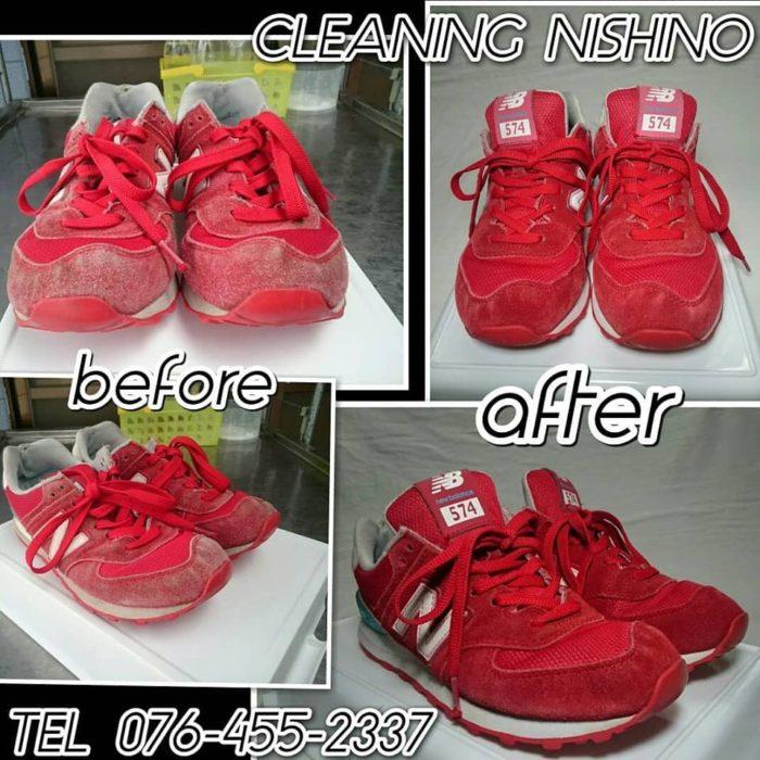 スニーカークリーニング,NEW BLANCE,富山,靴クリーニング,